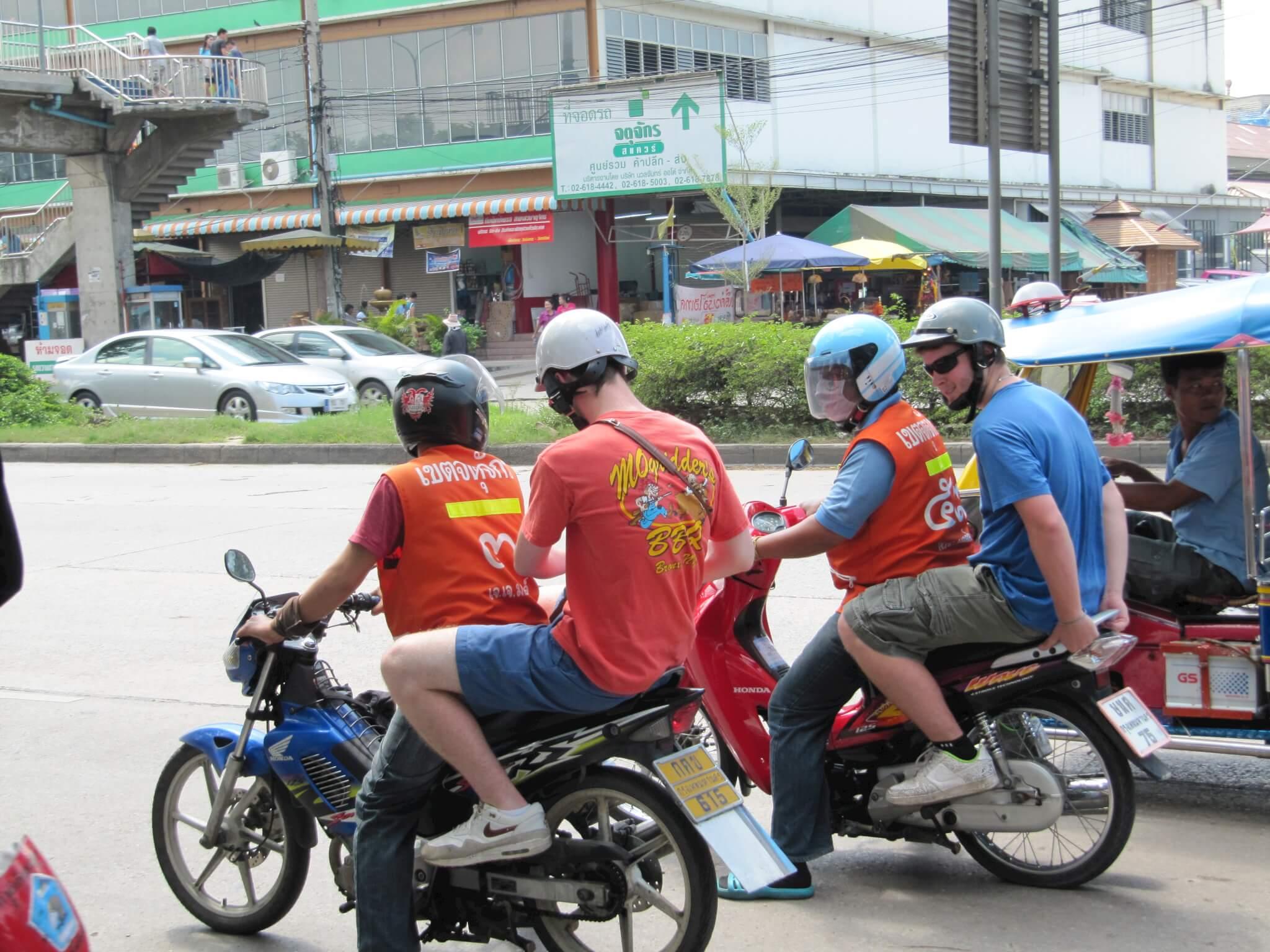 Как передвигаться по Таиланду