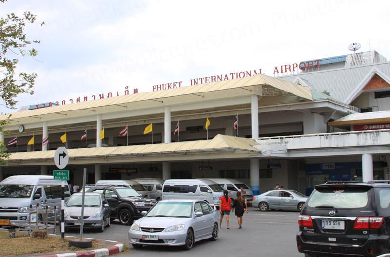 Старый терминал аэропорта на Пхукете. Как передвигаться по Пхукету.