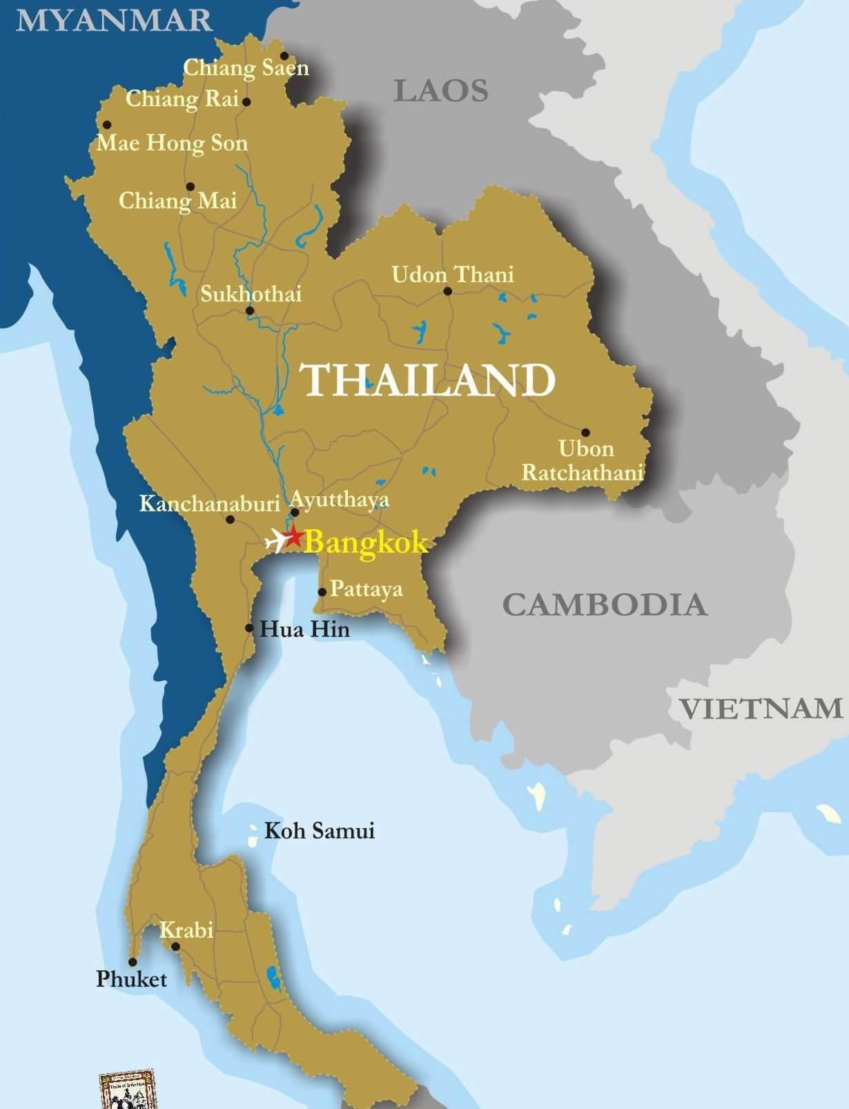 Бангкок Пхукет как добраться дешево leto.today map of Thailand карта таиланда Как добраться с Пхукета в Бангкок