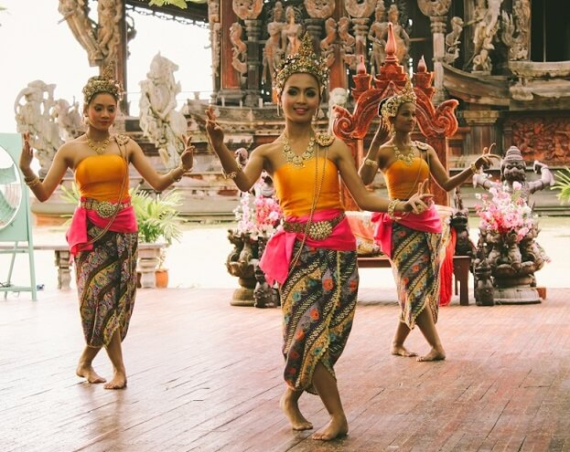 Храм истины в Паттайе, Тайланд (7) Коротко о Таиланде