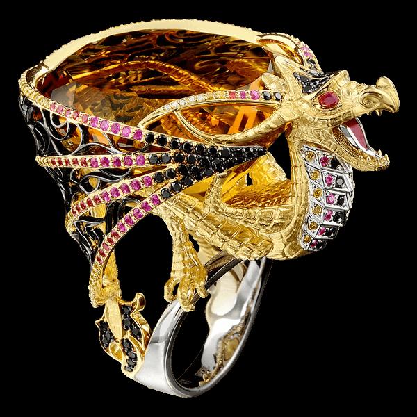 красивое эксклюзивное кольцо Ювелирный магазин на Пхукете.