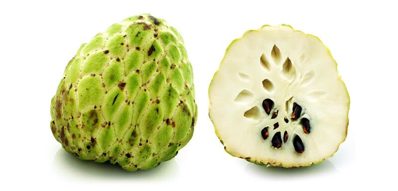 сахарное яблоко leto.today Фрукты в Таиланде Фрукты и овощи Таиланда.