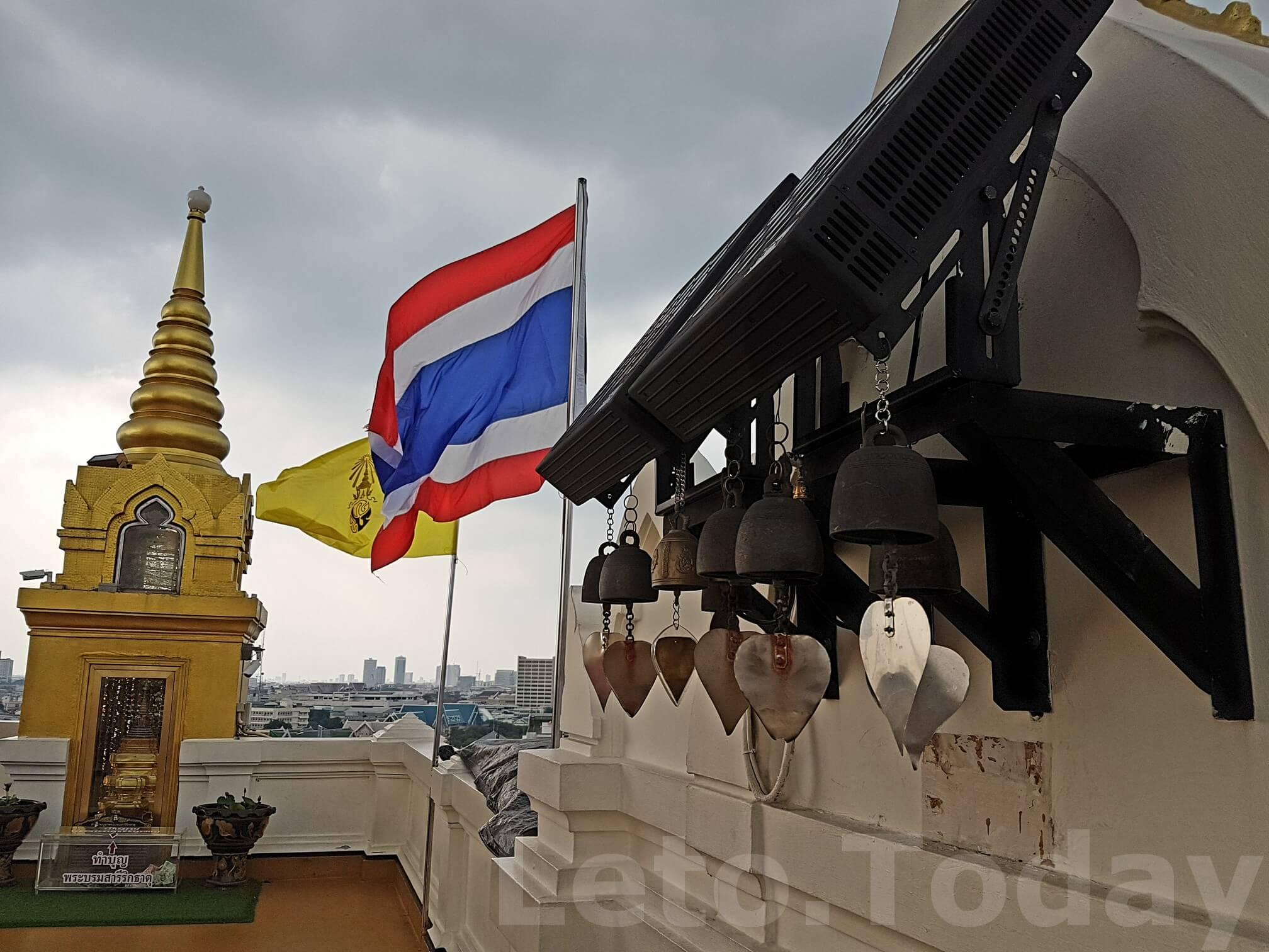 ват сакет leto.today (11) Обзорная площадка в Бангкоке - Ват Сакет