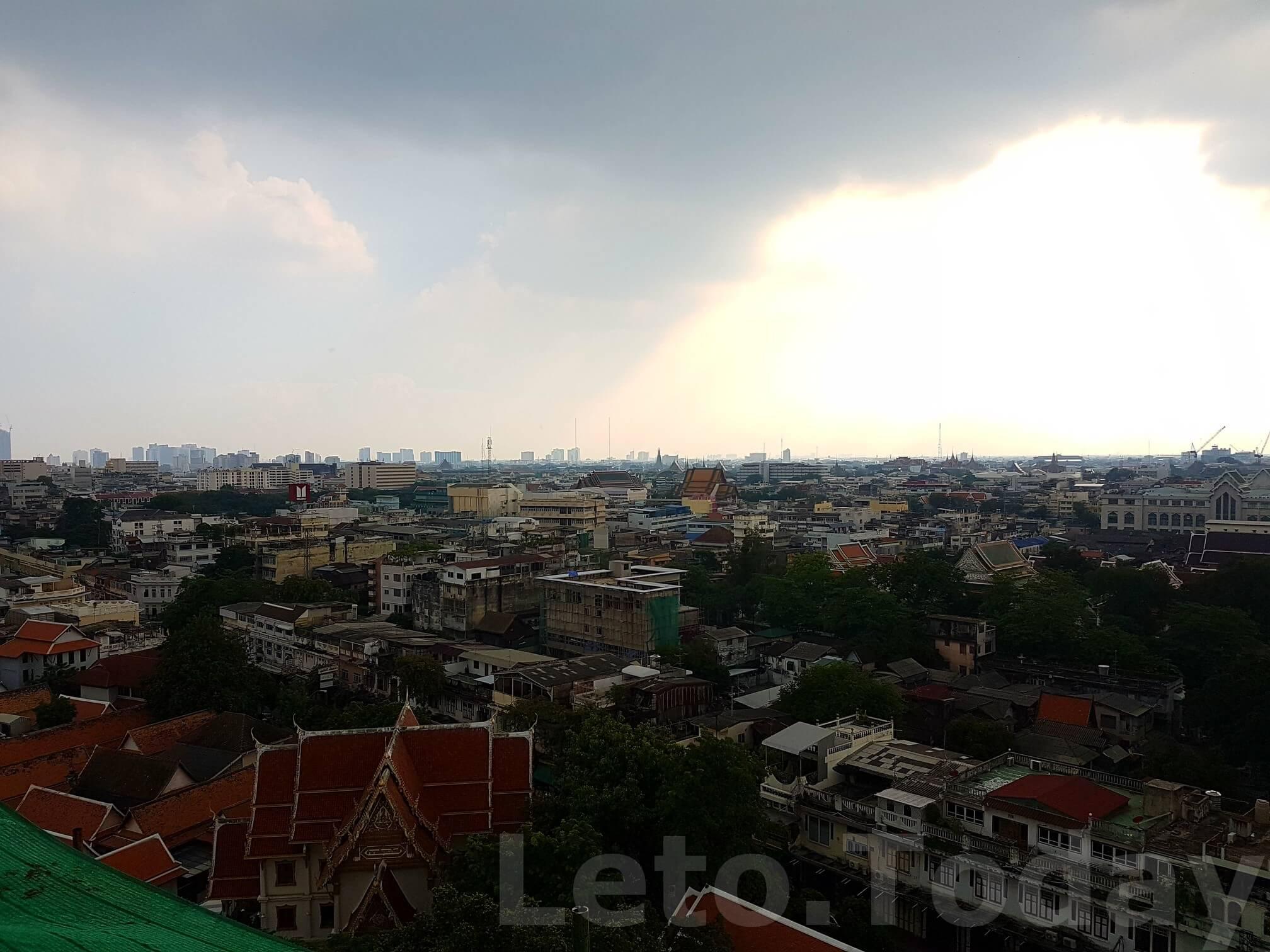ват сакет leto.today (12) Обзорная площадка в Бангкоке - Ват Сакет