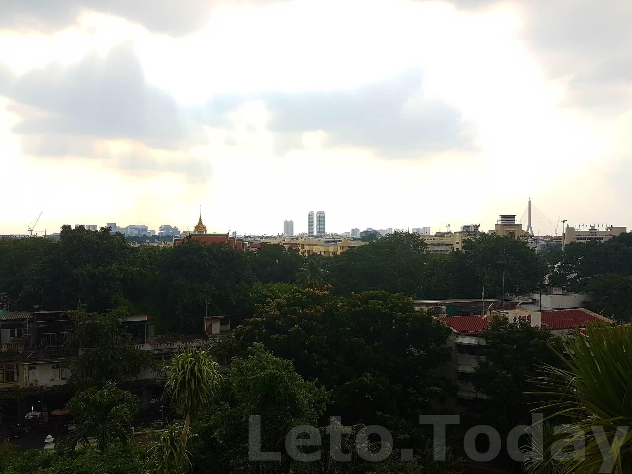 ват сакет leto.today (5) Обзорная площадка в Бангкоке - Ват Сакет