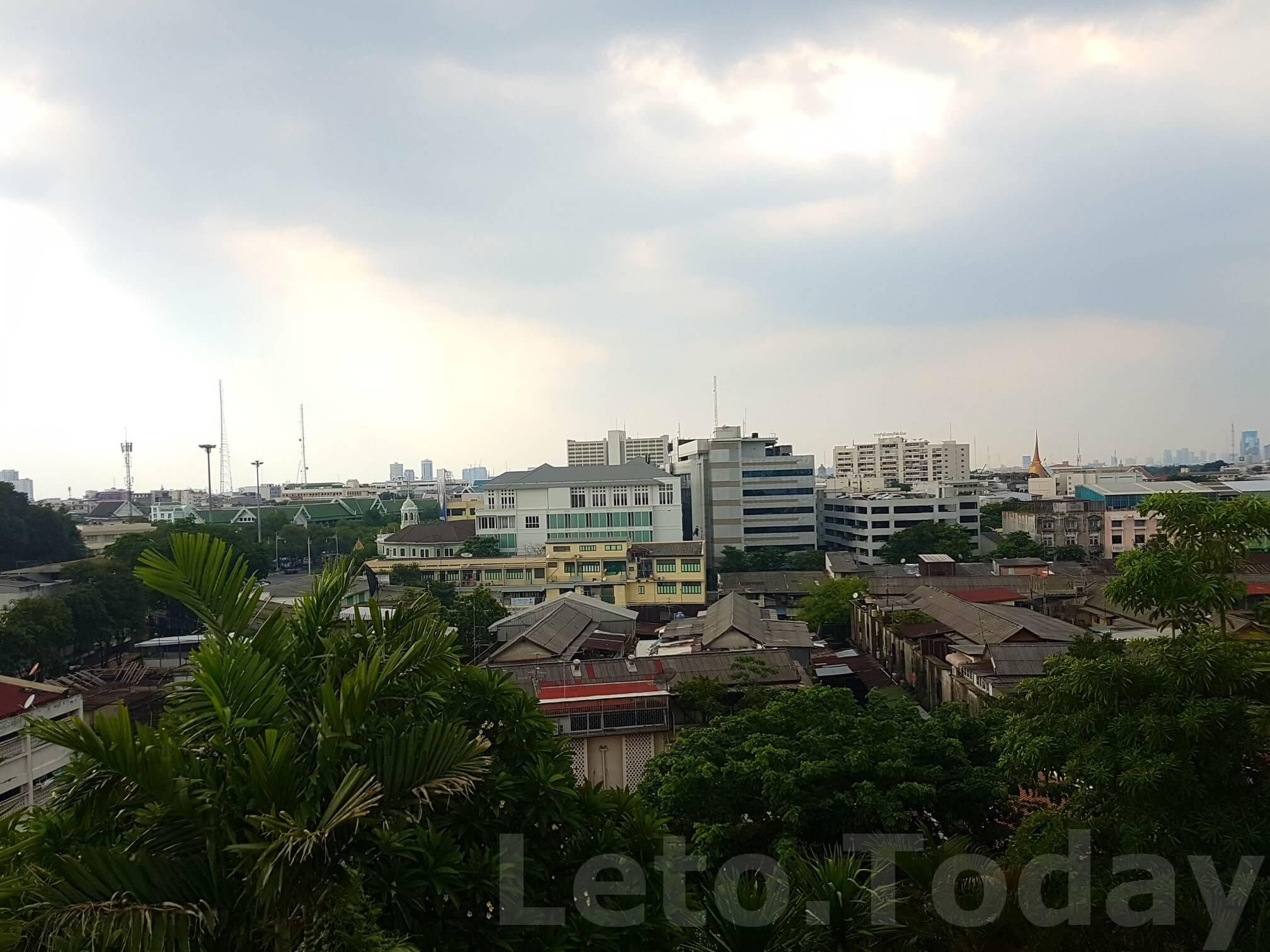 ват сакет leto.today (6) Обзорная площадка в Бангкоке - Ват Сакет