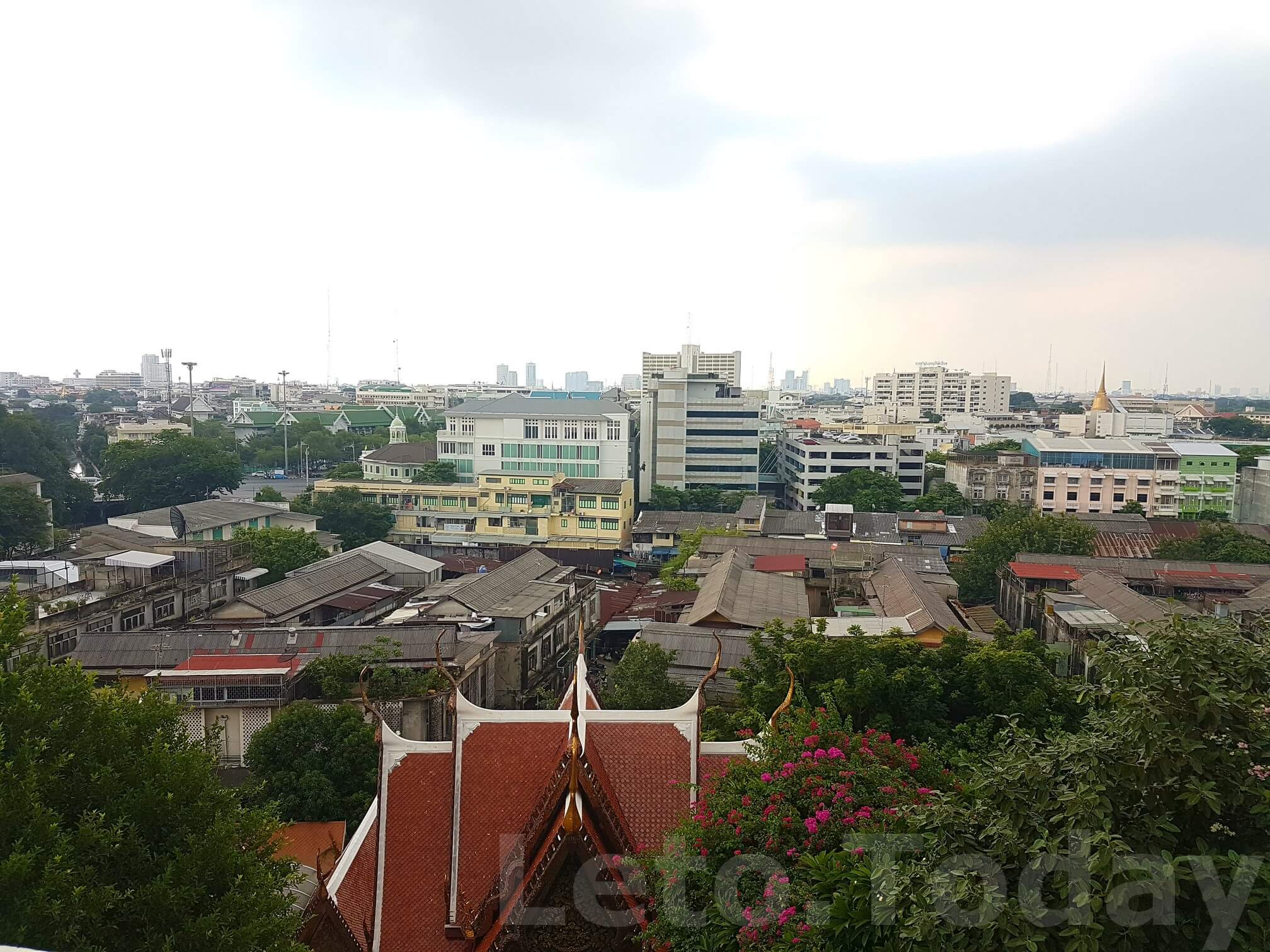 ват сакет leto.today (7) Обзорная площадка в Бангкоке - Ват Сакет
