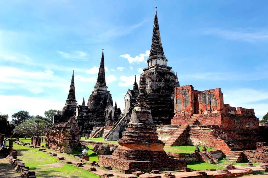 лучшие курорты Таиланда 1085x1500_Тайланд_drevnij gorod Ajutxaia