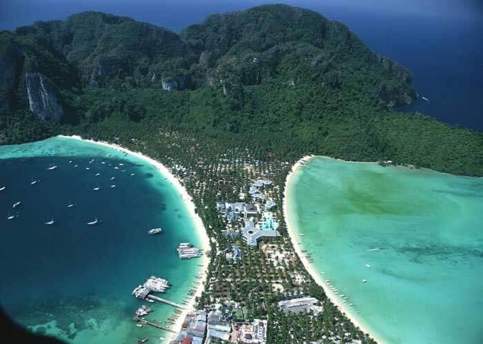 острова пхи пхи Пхукет Таиланд пляж