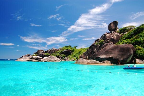 ostrov-similan-parus симиланские острова
