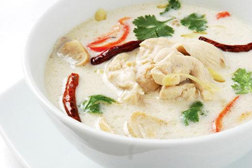 sup-kom-ka-tajskij-kokosovyj-sup что попробовать в таиланде