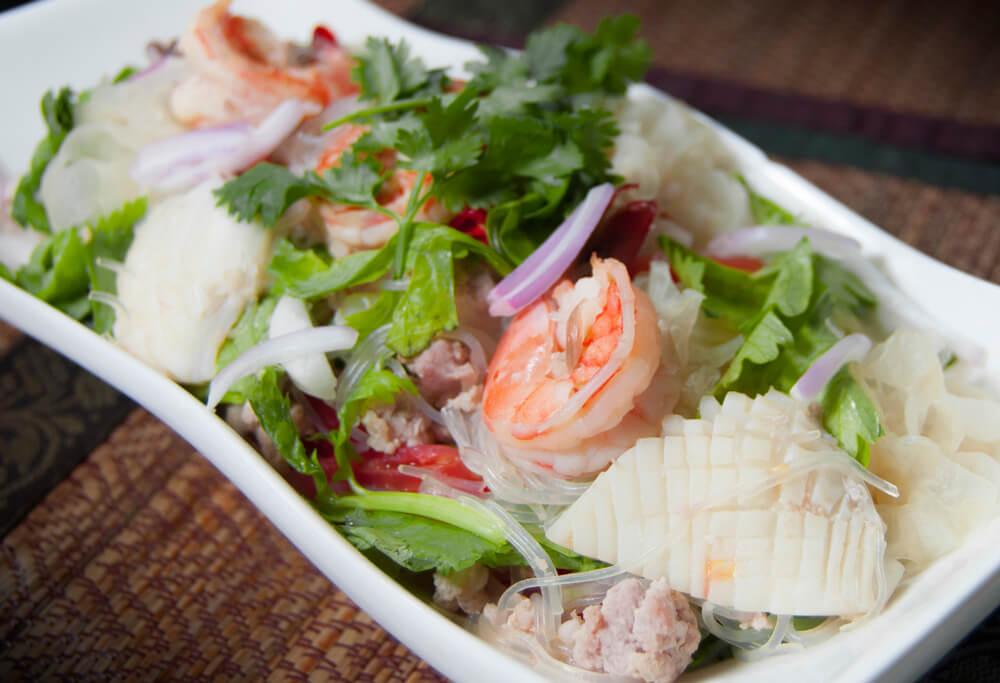 yam-vun-sen-tajskij-salat что попробовать в таиланде