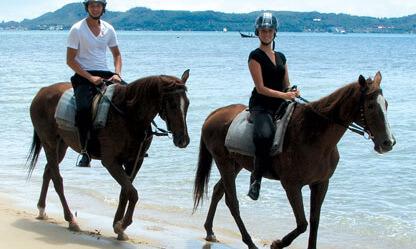 развлечения на пхукете катание на лошади