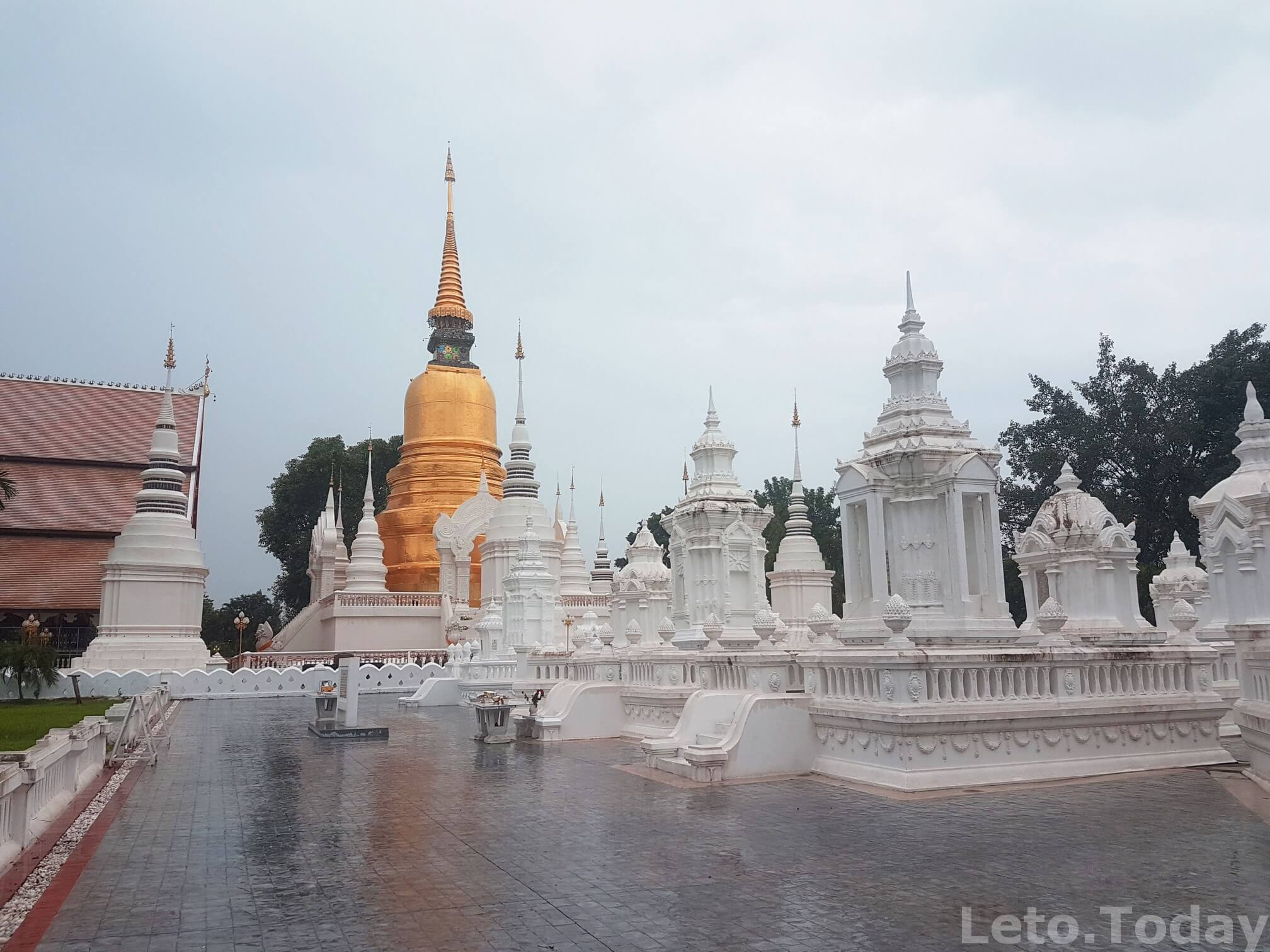 интересные храмы в чиангмае